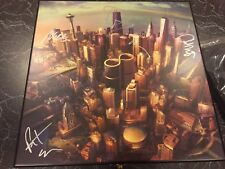 Foo Fighters SIGNED BY FULL BAND Sonic Highways Wooden Box Set Mega Bundle Grohl