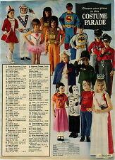 1975 ADVERTISEMENT Costume Halloween Evel Knievel Planet Apes Batman Superman