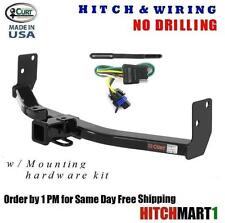 "CURT TRAILER HITCH & WIRING PKG FOR 2010-2016 CADILLAC SRX CLASS 3,  2"" RECEIVER"