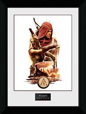 Assassins Creed Odyssey Collage Framed Print