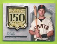2019 Topps 150 Years Commemorative Medallion - Buster Posey (AMM-BP)  Giants