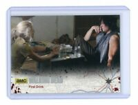 The Walking Dead Season 4 Part 1 Card 55 Silver Base Parallel /99 First Drink