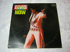 ELVIS NOW 33 RECORD VINTAGE