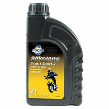 Silkolene SCOOT SPORT 2 Electrosyntec Low Smoke 2-Stroke Engine Oil 1 Litre 1L