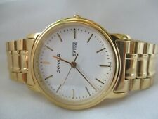 Sonata Classy Gold Toned Wristwatch - Water Resistant 30 Meters