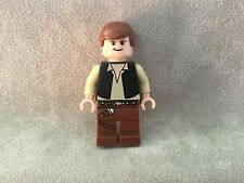 NEW LEGO STAR WARS HAN SOLO 10188 8038 MINIFIG, MINIFIGURE, FREE SHIPPING!
