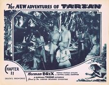 NEW ADVENTURES OF TARZAN 1935 Herman Brix Chapter 11 VINTAGE SERIAL Lobby Card 7