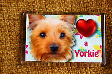 Yorkshire Terrier Gift Dog Fridge Magnet 77x51mm Yorkie Dog Birthday Gift