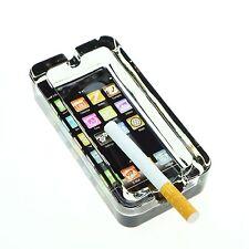 3 x Aschenbecher aus Glas Smartphone Design