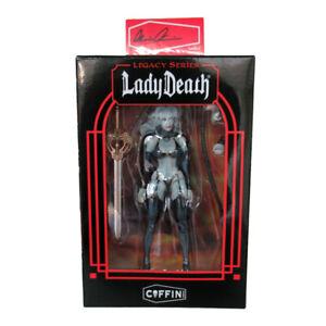 Lady Death: Legacy Action Figure Coffin Comics Exclusive w/ Signature Plate