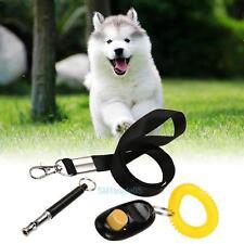 3pcs Ultrasonic Dog Training Whistle+ Pet Training Clicker+Free Lanyard Tool Set