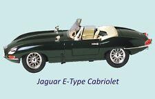 Jaguar E-Type Cabriolet Classic Car Fridge Magnet