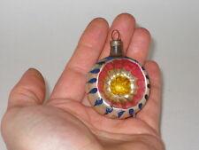 Figural Indented Starburst German Antique Christmas Ornament Decoration 1920's