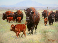 """Return of the Buffalo"" Wayne Baize Limited Edition Giclee Canvas"