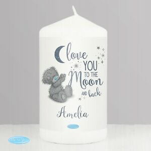 Personalised Gifts, Me to You 'Love You to the Moon and Back' Mug, Candle
