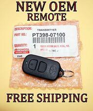 NEW SEALED TOYOTA RS3000 DEALER INSTALLED REMOTE FOB TRANSMITTER BAB237131-056