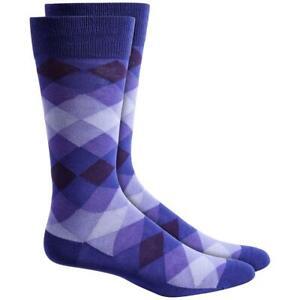 Alfani Mens Seamless Crew Workwear Dress Socks BHFO 8579