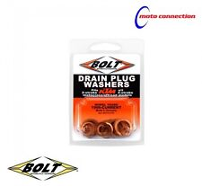 BOLT HARDWARE OIL CHANGE DRAIN WASHERS FOR KTM EXC-F 250 350 450 500 2017 - 2018
