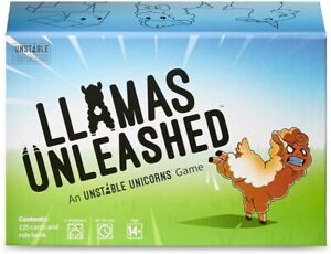 LLamas Unleashed Unicorn Party Card Game | New and Sealed