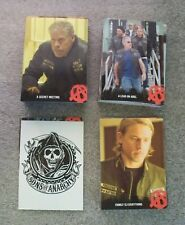 SONS of ANARCHY Seasons 1- 3   Trading Card Base Set