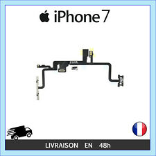 NAPPE ALLUMAGE ON/OFF BOUTON VOLUME MUET VIBREUR MICRO FLASH IPHONE 7
