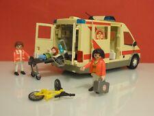 Playmobil Rescate Ambulancia hospital unidad móvil medicalizada samur 4221 206