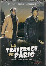"DVD ""LA TRAVERSEE DE PARIS"" - BOURVIL - JEAN GABIN - LOUIS DE FUNES neuf"