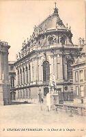 B3904 France Paris Versailles Chevet de la Chapelle   front/back scan