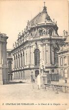B3904 France Paris Versailles Chevet de la Chapelle   front/back scan