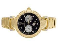 Ladies Aqua Master Two Tone White MOP Dial Diamond Watch W#358 0.14 Ct