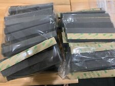 "100 Soft Polyurethane Foam Strips - Adhesive Back 1"" Thick Die Cut 1""x8"" Strips"
