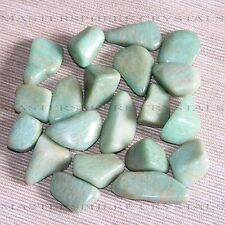 15 x Amazonite Tumblestones 14mm-16mm A Crystal Gemstone Wholesale Bulk