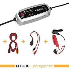 Ctek Mxs 5.0 Kit Cargador Extensión Vehículo de Batería Motocicletas Coche