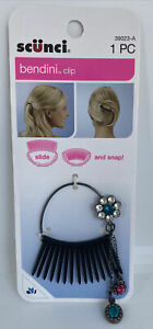 Scunci Bendini Clip Bend Slide And Snap Hair Accessory 39023-A