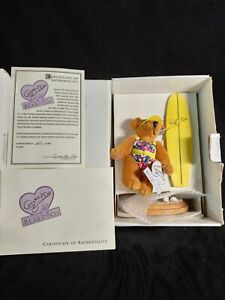 Annette funicello collectible beach party bear 2977/10000