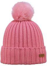 BARTS Pudelmütze LINDA, Damen Mädchen Pelz-Imitat, teil-gefüttert,  rosa pink