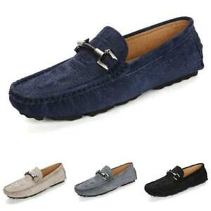 Mens Crocodile pattern Business Leisure Loafers Shes Driving Moccasins Slip on L