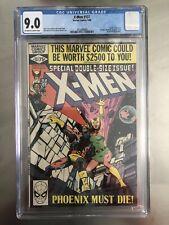 X-Men 137 CGC Marvel 1980 Death Of Phoenix Claremont & Byrne story CGC 9.0 VF/NM