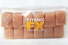 Titanic FX - Prosthetic Gelatin - Light Flesh 12 pack (3 oz. Cubes) - Reusable