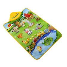 Farm Animal Musical Music Touch Kids Child Play Singing Gym Carpet Mat Toy Gift