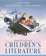 Essentials of Children's Literature 8th Edition Carol Lynch-Brown Paperback Book