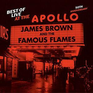 James Brown Best Of Live At The Apollo: 50th Anniversario (2013) CD Nuovo /