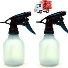 Empty Spray Bottle 2Pc 8Oz Water Chemical Small Lot Travel Pump Plastic Trigger