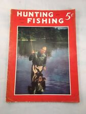 Hunting and Fishing Magazine Back Issue April 1941 Vintage Old