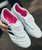 Adidas COPA GLORO 19.2 FG Football Boots UK9 White Pink Black New RRP £85 Now 60