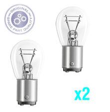 OSRAM P21/12V/4W BAZ15d GENUINE OSRAM LAMP/BULB 2 PACK