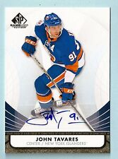 JOHN TAVARES 2012/13 SP GAME USED SIGNATURE AUTOGRAPH AUTO