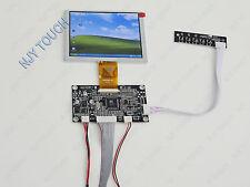 5inch TFT INNOLUX ZJ050NA-08C 640x480 50Pin Plus VGA AV LCD Controller Board Kit