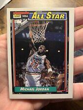 Michael Jordan 92 Topps All-Star #115🔥🔥🔥🔥🔥