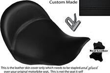 BLACK STITCH CUSTOM FITS BMW K 1200 LT 04-07 FRONT LEATHER SEAT COVER